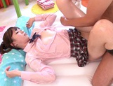 Position 69 scene with hot Maihana Natsuasian pussy, cute asian}