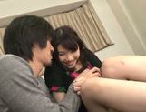 Busty Asian doll Honami Uehara enjoying a true fuck picture 6