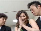 Japanese AV Model Is Enjoying A Cock Pounding picture 11