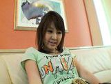 Nana Ayase Asian doll spreads her legs