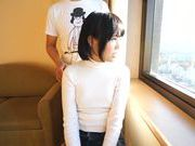 Japanese AV model gets hot pussy fingered