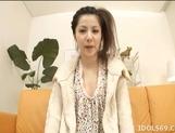 Rina Koizumi Hot Horny Japanese babe Gets Her Hot Pussy Licked