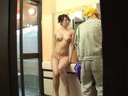 Appetising Japanese milf Kaori Otonashi enjoys cum on tits