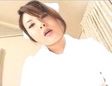 Kinu Misawa Asian babe Plays Nurse With Her Guy And Fucks Him