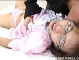 Akane Fugimoto Shows Creampie After A Long Furious Fuckin picture 8