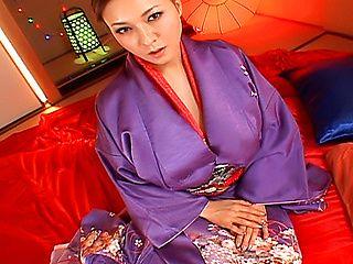 Yuuki Tsukamoto Busty Asian babe In Bukkake Party
