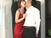 Hottie with bubble ass Yui Hatano likes oral games and rear fuck
