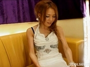 Ai Natsuki Lovely Asian Call Girl Enjoys Her Fruits