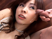 Ran Monbu Hot Japanese babe Gets A Massive Facialasian sex pussy, asian chicks}