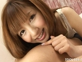Aisaki Kotone Naughty Asian Teen Is A babe Who Enjoys Creampie Endings picture 8