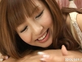 Aisaki Kotone Naughty Asian Teen Is A babe Who Enjoys Creampie Endings picture 9