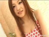 Suzuka Ishikawa Naughty Asian babe Enjoys Lots Of Cock In Any Position
