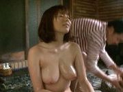 Active Japanese milf Yuma Asami gets fucked in a swimming pool