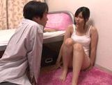 Pretty Asian Haru Sasaki headfuck and doggystyle picture 2
