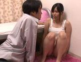 Pretty Asian Haru Sasaki headfuck and doggystyle picture 3
