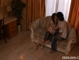 Chika Nakamura Naughty Asian babe Is Getting Her Pussy Pounded By A Huge Cock