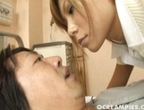 Aya Naughty Nurse Is Giving Patient A Work Out