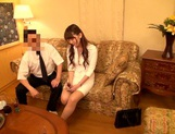 Hatano Yui gets fucked and made to swallow warm jizz
