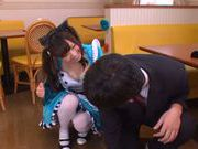 Aino Kishi Asian babe gives a hot blowjob