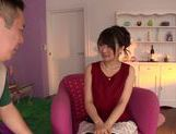 Arousing Ruri Nanasawa enjoys huge cock pounding her