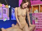 Petite Japanese amateur in sexy lingerie bounces on dickasian wet pussy, nude asian teen}