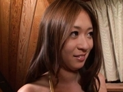 Risa Misaki Asian beauty gives a deep blowjob