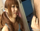 Aisaki Kotone Lovely Asian Teen Gives Great Handjobs And Head picture 10