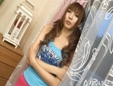 Aisaki Kotone Lovely Asian Teen Gives Great Handjobs And Head picture 3