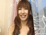 Aisaki Kotone Lovely Asian Teen Gives Great Handjobs And Head picture 5