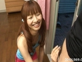 Aisaki Kotone Lovely Asian Teen Gives Great Handjobs And Head picture 9