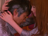 Cum in mouth of horny milf Akiho Yoshizawa picture 12
