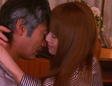 Cum in mouth of horny milf Akiho Yoshizawa picture 13