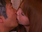 Cum in mouth of horny milf Akiho Yoshizawa picture 14