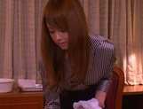 Cum in mouth of horny milf Akiho Yoshizawa picture 2