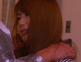 Cum in mouth of horny milf Akiho Yoshizawa picture 8