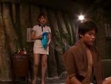 Savoury Asian amateur Akiho Yoshizawa in a kinky sex action