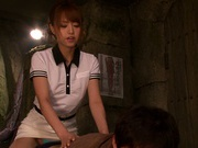 Savoury Asian amateur Akiho Yoshizawa in a kinky sex action