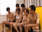 Chizuru Moriil Naughty Asian Gets Fucked Hard At An Orgy