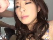 Stunning Japanese sex doll deepthroats rod and gets drilled