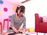 Cumshot for amateur rouge Maihana Natsu picture 7