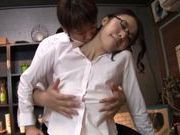 Milf with huge tits Kaede Niiyama gets fucked hard