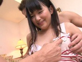 Creamed pussy of Tsuma Kimura satisfies her picture 8