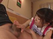 Sexy Asian maid Rio Ogawa pleases her horny boss