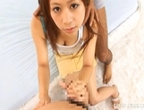 Chizuru Morill Hot Horny Asian Teen Enjoys Getting A Hard Pussy Pounding picture 4