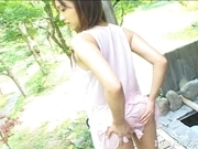 Izumi Yamaguchi Horny Asian Teen Shows Off Her Body
