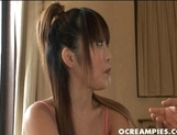 Aizawa Yume Young Asian Model Shows Off Her Flexibility