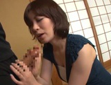 Nao Mizuki Asian milf has big tits fucked for cumshot picture 14