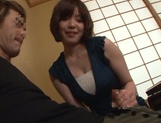 Nao Mizuki Asian milf has big tits fucked for cumshot picture 8
