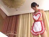 Young Kokoro Harumiya pleases her master in hardcore