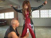 Emiri Okazaki naughty Asian babe enjoys BDSM